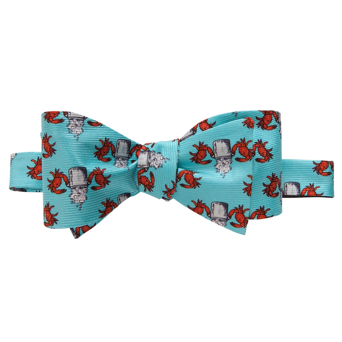 Crab Boil Bow Light Blue